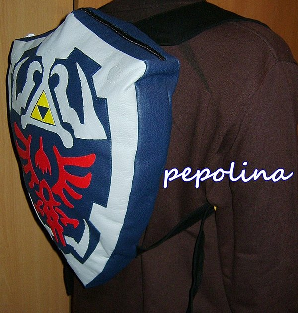 legend of zelda hylian shield backpack by pepolina 2