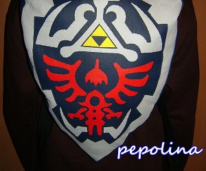Legend of Zelda Hylian Shield Backpack: Schoolward Shield