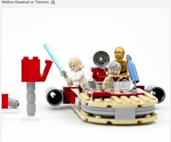 Funny Pop Culture Scenes in LEGO
