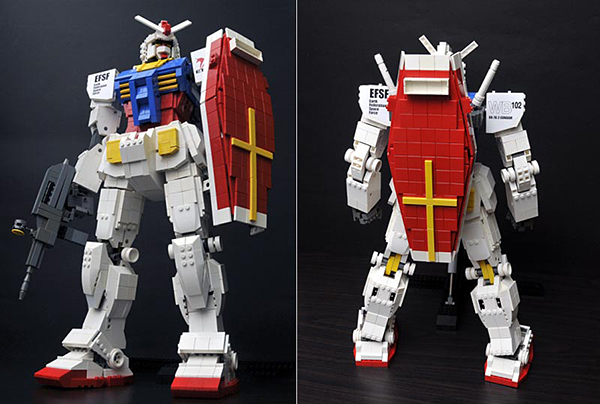 LEGO Gundam is Too Good to Be Official