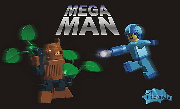 LEGO Mega Man Concept: Blue Bomber Bricks