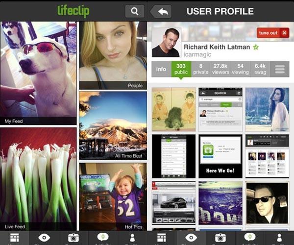 Lifeclip iOS App: For All You Instagram Refugees