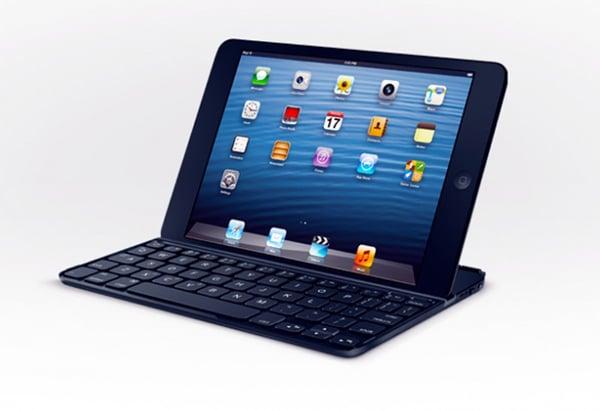 Logitech Ultrathin Keyboard for iPad Mini: GTD on Teeny Keys