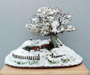 lord of the rings bag end hobbit hole bonsai by chris guise 6 300x250