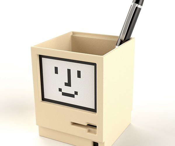 Classic Macintosh Pen Holder: The Mac is Mightier than the Pen