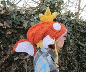 magikarp pokemon crocheted hat by corlista 3 300x250