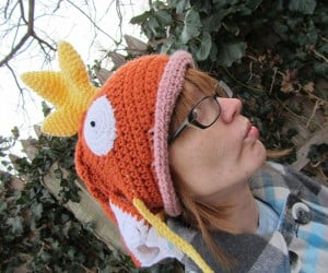 magikarp pokemon crocheted hat by corlista 4 300x250