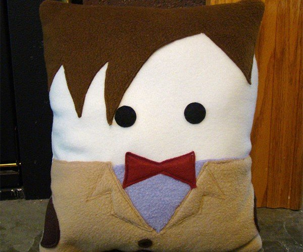 Doctor Who Plush 11th Doctor Pillow: Pillows Are Cool