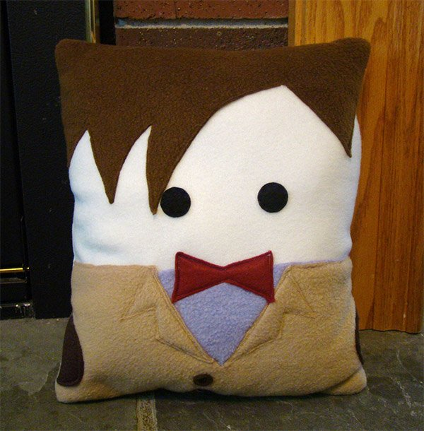 matt smith doctor who pillow