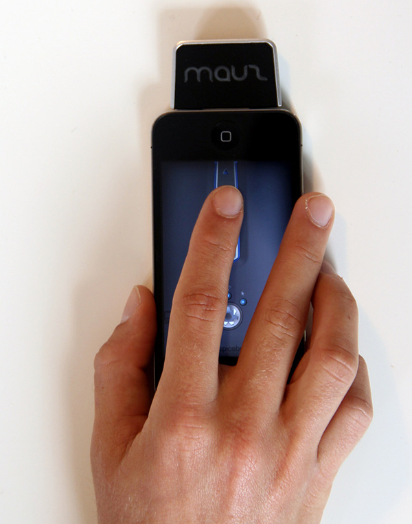 mauz iphone mouse accessory