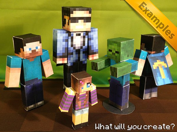 minecraft papercraft studio by 57digital