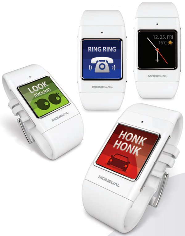 moneaul smart care system smartwatch for deaf