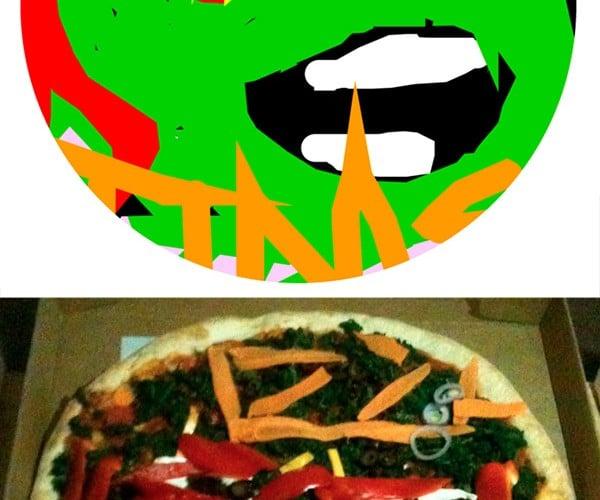 Paint Your Pizza: Looks Good, Hopefully Tastes Even Better