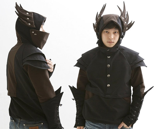 Pegasus Knight Armor Hoodie Offers Killer Looks with None of the Danger