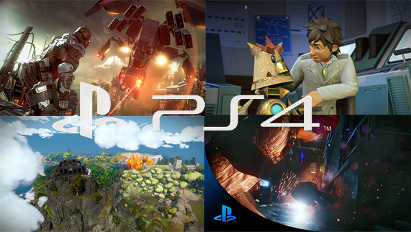 First Batch of PS4 Game Trailers Posted Online