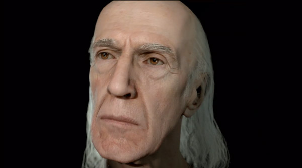 ps4 quantic dream head demo