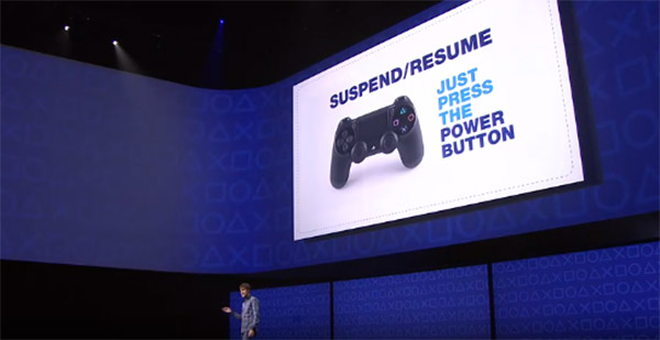 ps4 suspend