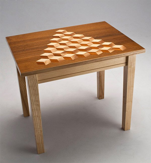 Bert Mushroom Storage Coffee Table: Q*bert Coffee Table Looks @!#?@! Awesome