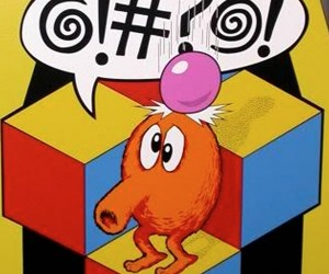 Mr. @#?%!: A Q*bert-ese Obscenity Generator