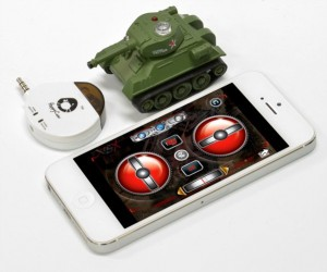 iPad & iPhone Controlled RC Battle Tank is the Future of Micro Warfare