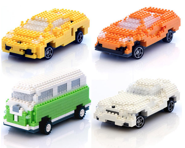 Build Your Own Iphone Controlled Lego Style Brick Car
