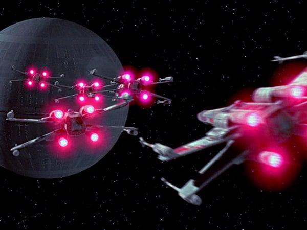 Rebels Retaliate to Death Star Kickstarter with X-Wing Kickstarter: A New Joke