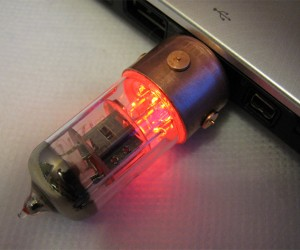 Vacuum Tube Flash Drives Combine Old School, New School Tech