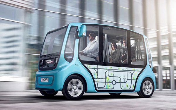 "Rinspeed microMAX EV: The ""Urban Swarm"" Vehicle"