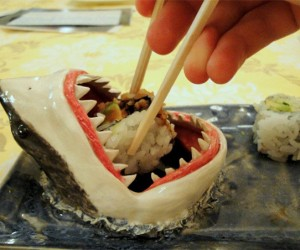 Shark Sushi Plate: Big Fish Eat Little Fish
