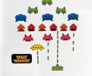 Space Invaders Fridge Magnets: Once Your Base is Destroyed, So are Your Perishables