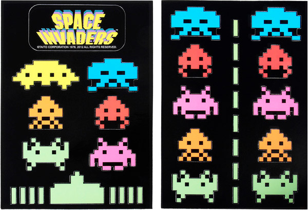 space invaders magnets 2