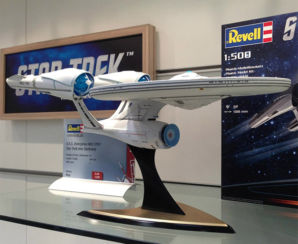 star trek into darkness enterprise model