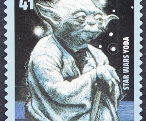 Yoda Postage Stamps: Missed These When They Came out, I Did