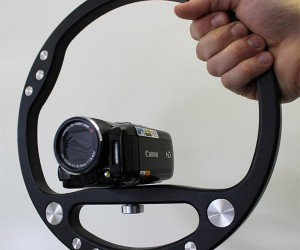 SteadyWheel Smooths out Videos Without Moving Parts