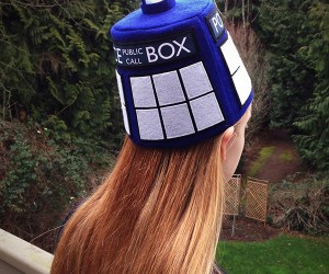 The TARDIS Fez Holds Bigger Brains on the Inside