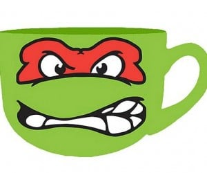 TMNT Rafael Soup Mug: Not for Turtle Soup