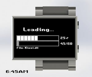 Gamers Will Love the Tokyoflash Loading… Concept Watch. Or not.