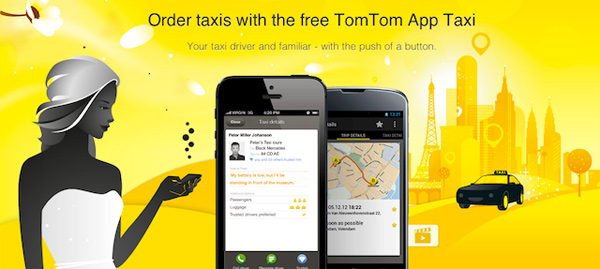 tomtom taxi app photo