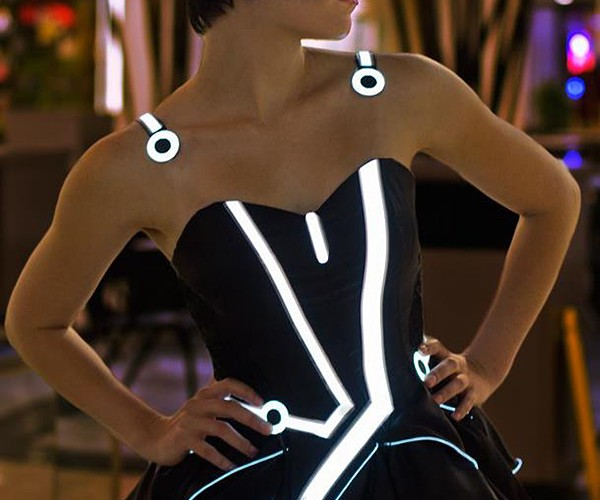 TRON Party Dress is off the Grid