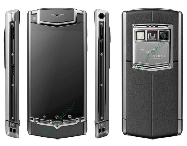 vertu constellation ti android phone