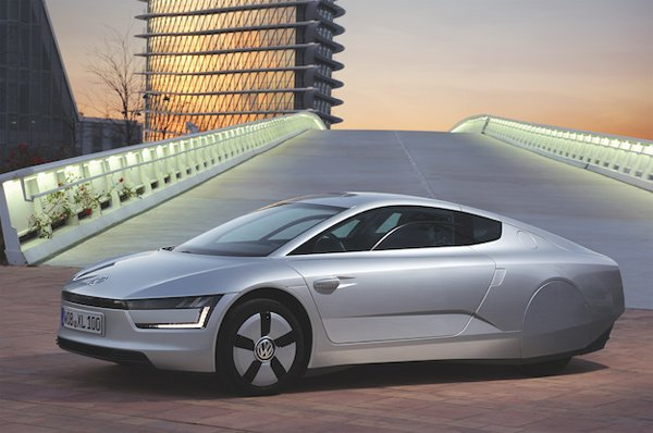 volkswagen xl1 hydrid car