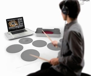 Y-Drum Portable Drum Set Concept: Roadie Friendly Percussion