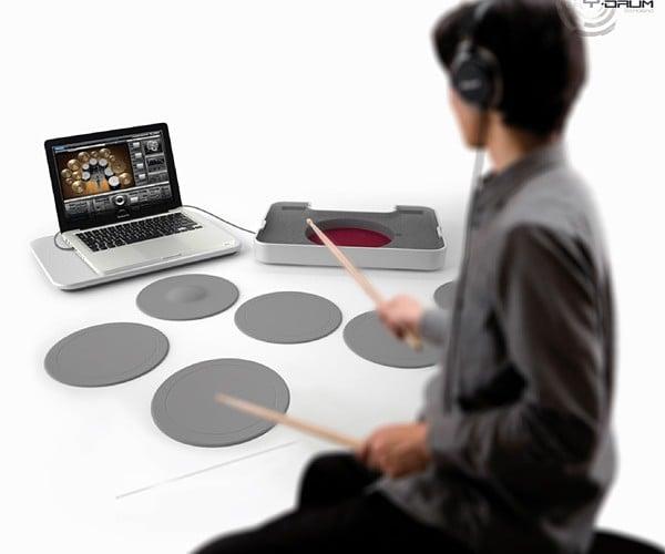 Y-Drum Portable Drum Set Concept: Roadie Friendly Percussion