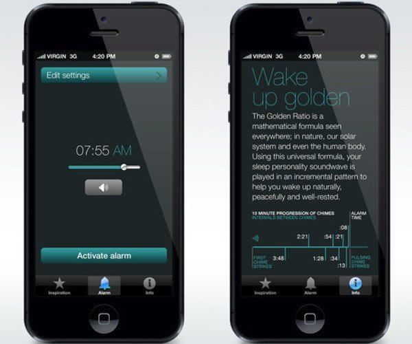 ZenAwake iOS App Gently Wakes You from Your Slumber