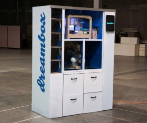 Dreambox 3D Printer Vending Machine Lets You Buy Whatever Your Heart Desires