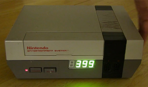 Hacked NES Boots Unwanted Chatterboxes from Your Office
