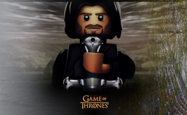Classic Game Of Thrones Scenes Recreated In LEGO