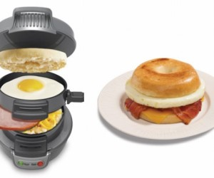 Hamilton Beach Sandwich Maker Cooks up a Full Breakfast in Five Minutes