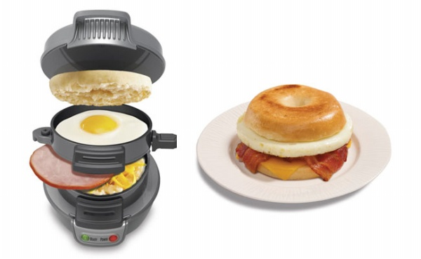 Hamilton Breach Breakfast Sandwich Maker