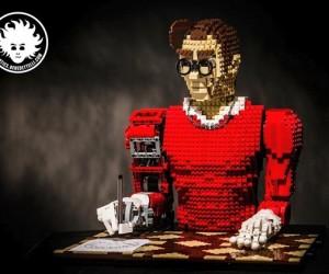 LEGO Automaton: LEGONardo da Vinci